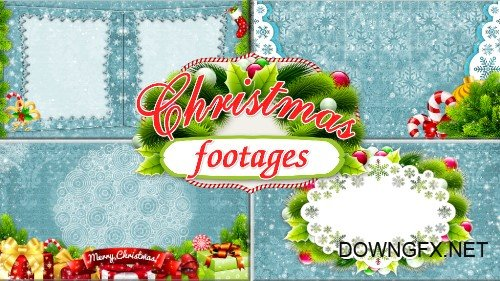 Christmas footages - Wonderful holiday of Christmas
