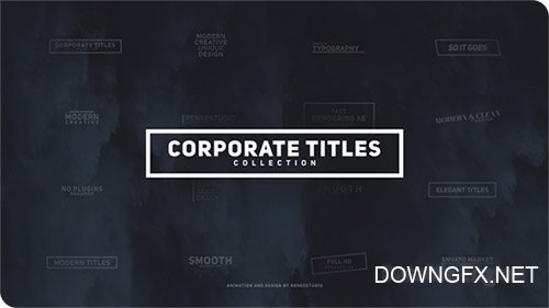 Corporate Titles Pack - Project for After Effects (Videohive)