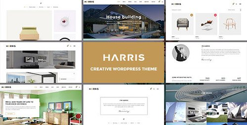 ThemeForest - Harris v1.0 - Creative WordPress Theme - 16678450