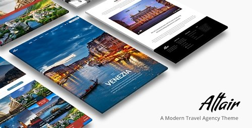 ThemeForest - Tour Travel Agency - Altair Theme v3.5 - 9318575