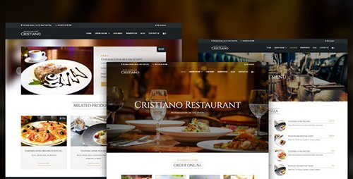 ThemeForest - Cristiano Restaurant v1.5 - Cafe & Restaurant WordPress WooCommerce Theme - 17392139