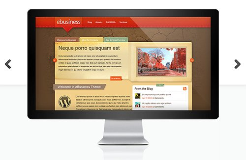 ElegantThemes - eBusiness v6.8.6 - WordPress Theme