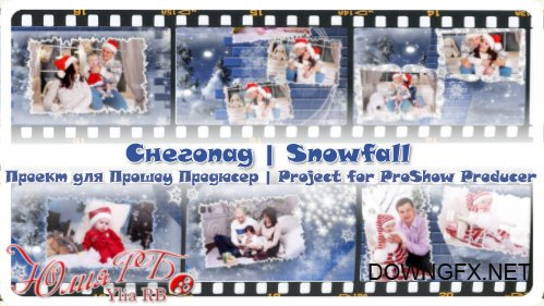 Snowfall - project for ProShow Producer