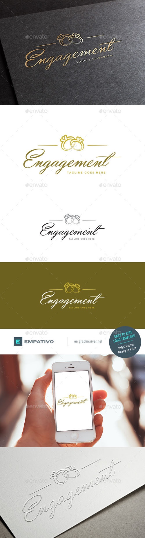 Engagement Logo Template 11098119