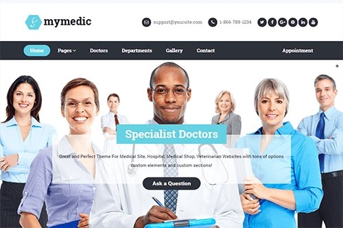 Theme-Junkie - MyMedic v1.0.0 - WordPress Theme