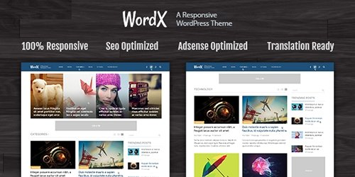 MyThemeShop - WordX v1.2.2 - WordPress Theme