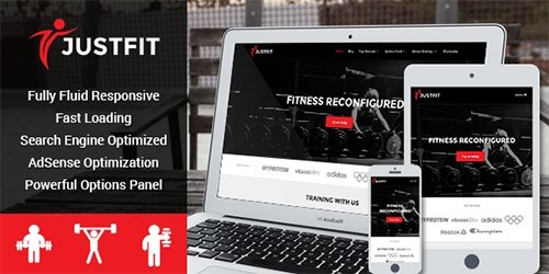 MyThemeShop - JustFit v1.2.3 - WordPress Theme