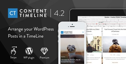 CodeCanyon - Content Timeline v4.3.2 - Responsive WordPress Plugin for Displaying Posts/Categories in a Sliding Timeline - 3027163