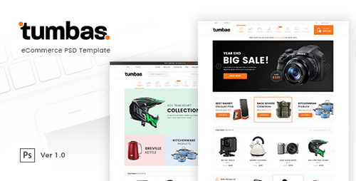 Tumbas - eCommerce PSD Template 18903134