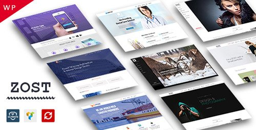 ThemeForest - Zost v1.0 - Portfolio / Agency / Multipurpose WordPress Theme - 17965800