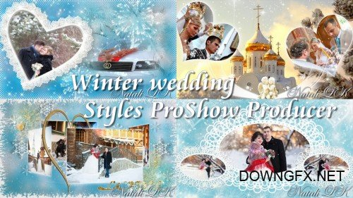 Winter wedding - styles  for ProShow Producer