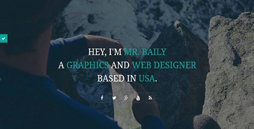 CodeGrape - Baily - Responsive Resume Template - 6944