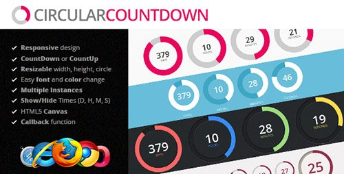 CodeGrape - Circular Countdown jQuery Plugin (Update: 28 July 16) - 2038