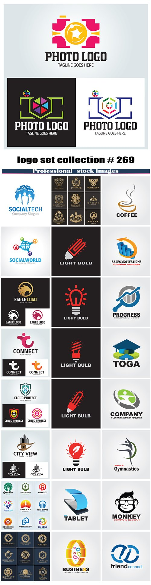 logo set collection # 269