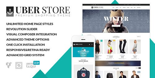 ThemeForest - UberStore v3.3.1 - Responsive E-Commerce Theme - 7009376