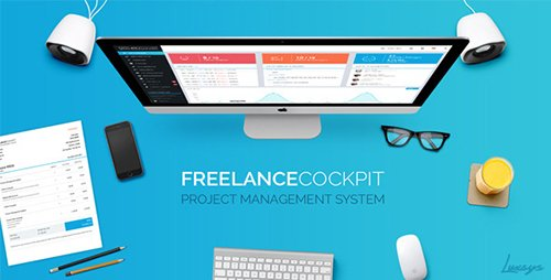 CodeCanyon - Freelance Cockpit 3.0 - Project Management and CRM - 4203727