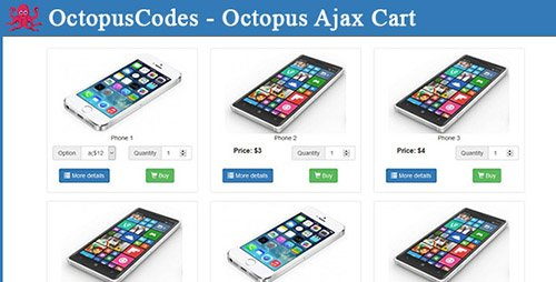 CodeCanyon - Octopus Ajax Cart (Update: 4 April 16) - 15105686