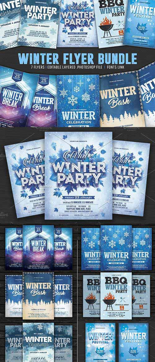 Winter Flyer Bundle - 1093432