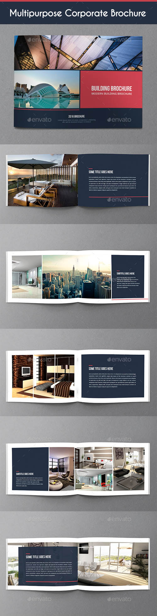Multipurpose Corporate Brochure 18628652