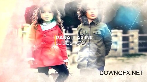 Parallax Ink Slideshow - After Effects Templates