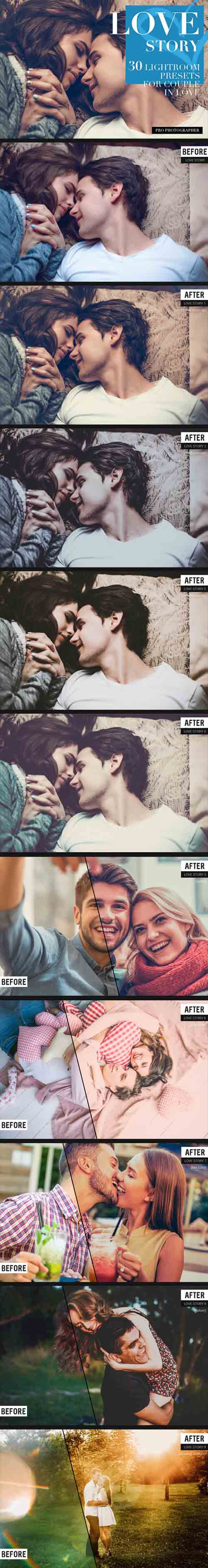 GR - Love Story Lightroom Presets 19294892