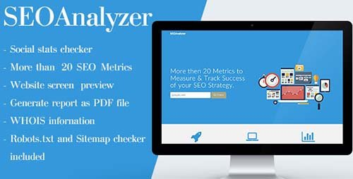 CodeCanyon - SEOAnalyzer v1.3.5 - WordPress Plugin - 13395656