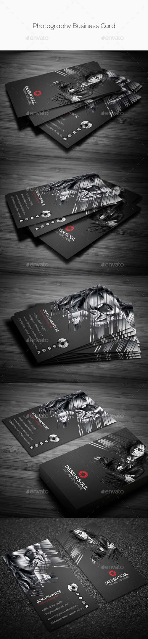 GR - Photography Business Card 10438153