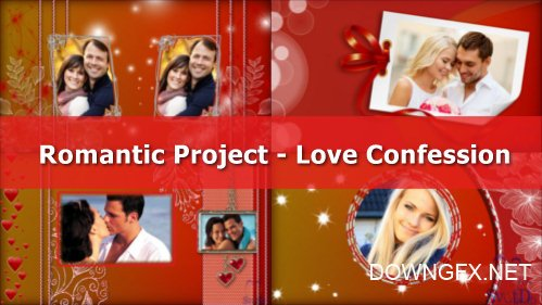 Love Confession - project for ProShow Producer