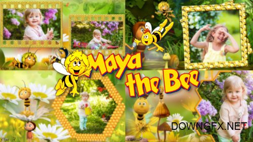 Maya bee - project for ProShow Producer