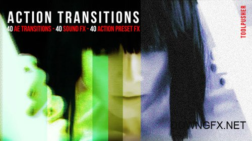 Action Transitions Pack - After Effects Presets (Videohive)