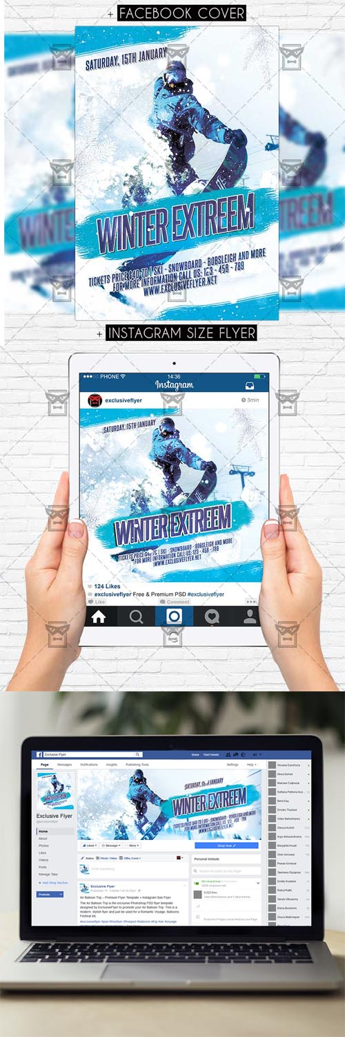 Flyer Template - Winter Extreem