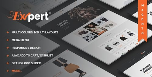 ThemeForest - Expert - Responsive Magento Theme (Update: 15 May 16) - 15089224