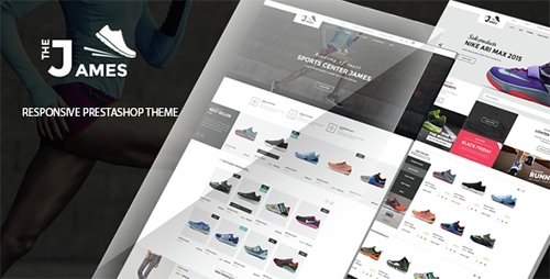 ThemeForest - James v1.0 - Responsive Prestashop Shoes Store Theme - 14660332