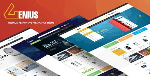 ThemeForest - Genius v1.0 - Multipurpose Responsive Prestashop Theme - 17042453