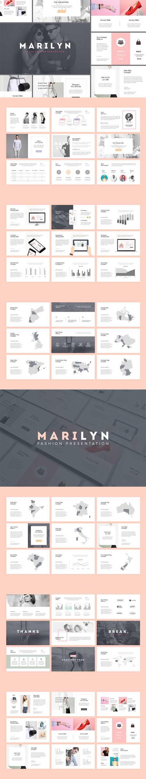 M A R I L Y N - Fashion Presentation