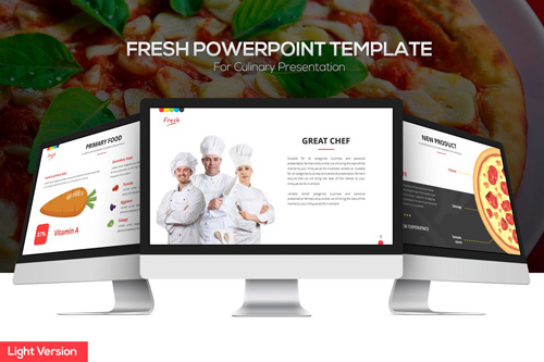 Fresh Powerpoint Template (Light Version)