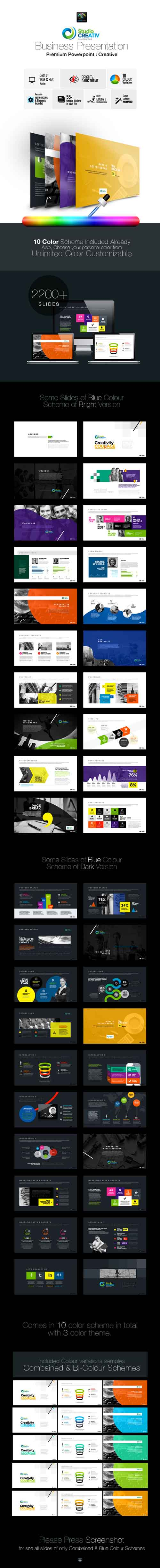Creative Business PowerPoint 9571468
