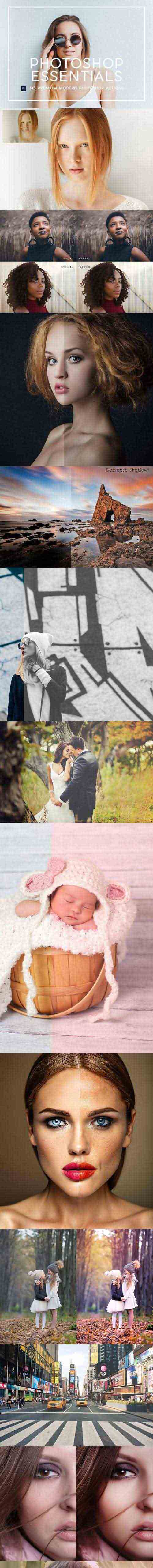145 Professional Photoshop Actions 1269983