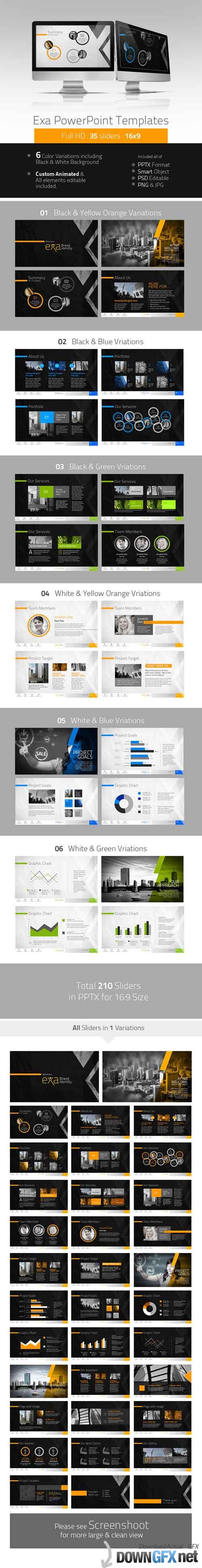 GR - Exa Creative PowerPoint Presentation 4741238