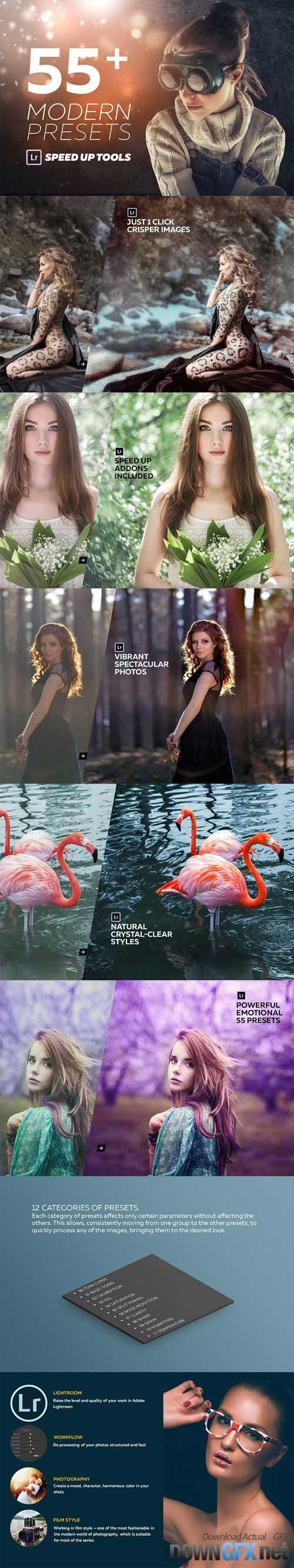 55 Modern Lightroom Presets 1330510