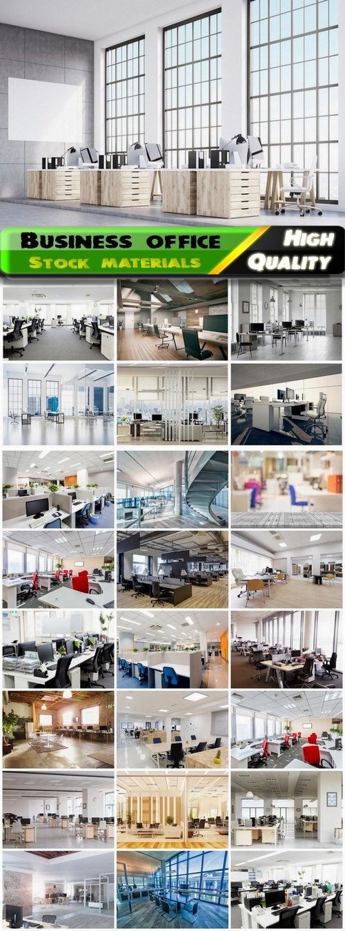 Business office and presentation room and workplace interior 25 Jpg