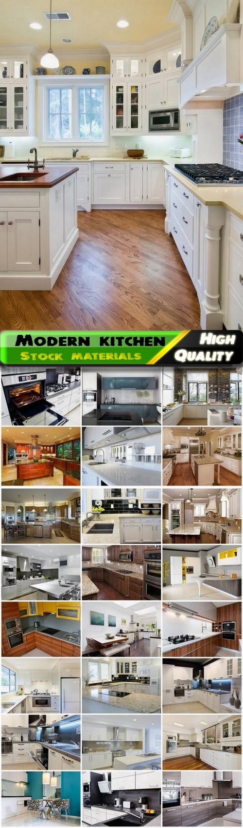Creative modern home kitchen and place for cooking interior 25 Jpg