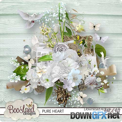 Scrap kit - Pure Heart