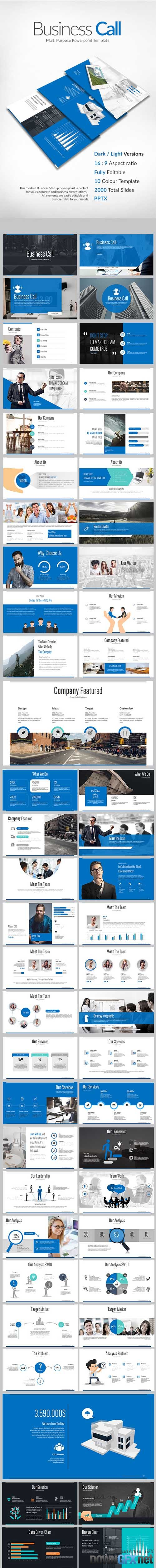 Business Call Powerpoint Presentation 17889387