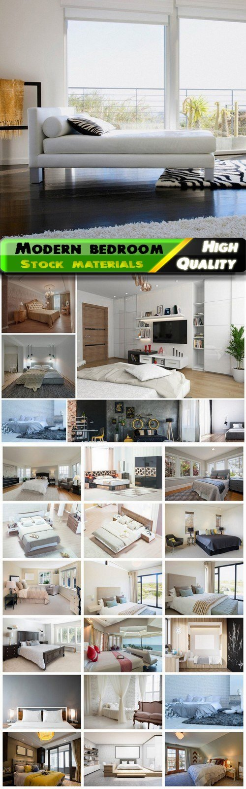 Creative home and house interior with modern bedroom 2 25 Jpg