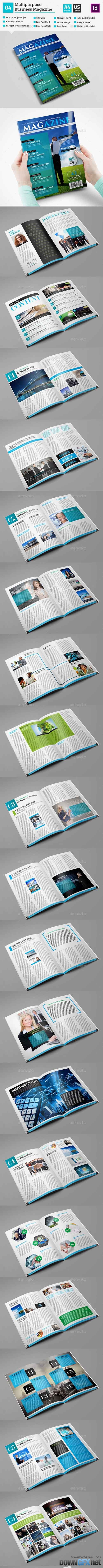 Multipurpose Magazine Template_Indesign 52 Page_V4 10823679