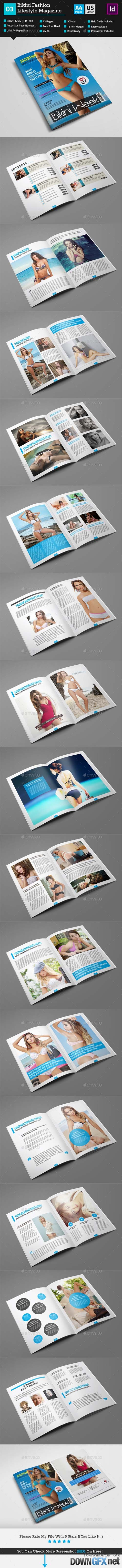 Bikini Magazine Template_Indesign 42 Pages_V3 10365955