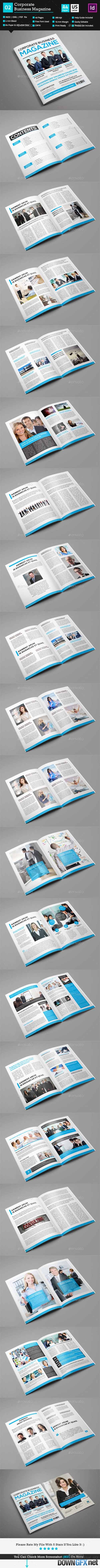 Corporate Business Magazine_Indesign 40 Pages_V2 9789663