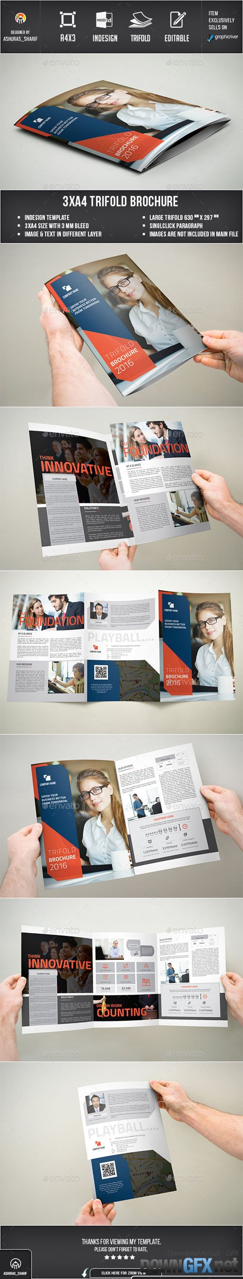 Trifold Brochure 13829225