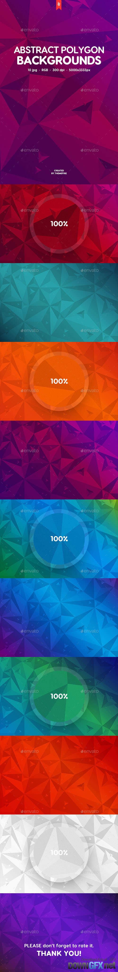 Abstract Polygonal Backgrounds 19680026